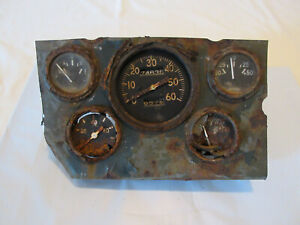 Gpw Jeep Willys Mb Instrument Gauge Cluster