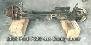 99 2004 Dana 60 Front Differential Ford Powerstroke F350 Dually 4x4 4wd 4 10 Ls