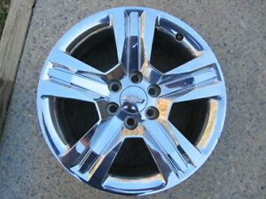 20 Chevy Silverado Chrome Factory Oem Wheel Rim 2016 2018 23220754 B 5755