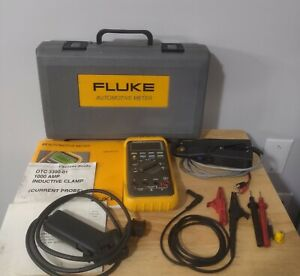 Fluke 88 Multimeter Combo Kit Manuals And Wiring For Parts Only