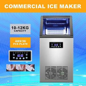 Commercial Ice Maker Machine For Restaurant Bar 4x9 36 Ice Cube 100lb 24h 300w