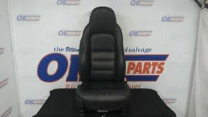 05 Chevy Corvette C6 Front Right Passenger Power Heated Seats Black Leather