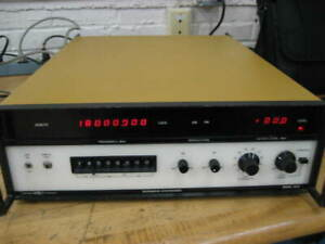 1 Systron Donner Model 1618 Synthesized Signal Generator 50mhz 18ghz