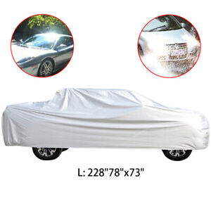 Fit For Ford F 150 Pickup 4 door Sliver Waterproof Truck Pickup Full Car Cover