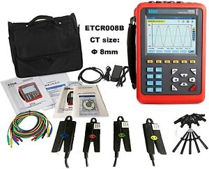 3 Phase Power Quality Analyzer Meter Energy Tester Range Ac 10ma To 10 0a