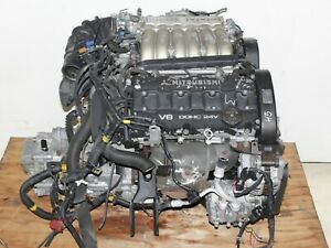 90 94 Mitsubishi 3000 Gt Gto Dodge Stealth Engine 5 Speed for Parts Only 6g72