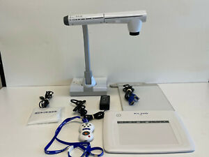 Elmo Tt 12 Interactive Document Camera Cra 1 Wireless Slate tablet