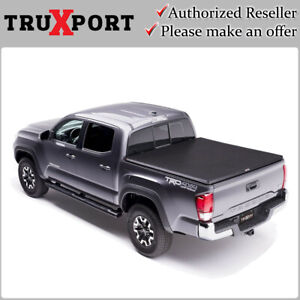 Truxedo Truxport Soft Roll Up Cover For 2016 2021 Toyota Tacoma 5 Short Bed