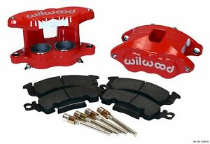 Willwood Brakes 140 11290 R Brake Caliper Front Axle Red