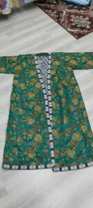 Uzbek Samarkand Women S Dress Robe Base Silk 30 40 Years Old