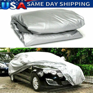 Waterproof Full Car Cover For Small Cars Truck Out Door Dust Uv Ray Rain Snow
