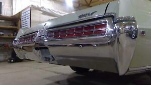 1969 Buick Wildcat Rear Bumper Assembly chrome Oem