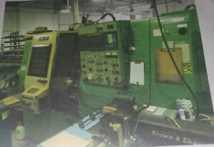 Mori Seiki Model Zl 15s Cnc Turning Center W subspindle
