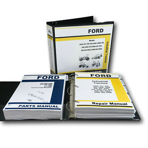 Ford 340 340a 340b Loader Backhoe Tractor Service Repair Parts Manual Shop Books