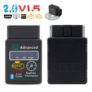 Elm327 V2 1 Obd 2 Obd Ii Car Auto Bluetooth Diagnostic Interface Scanner Android