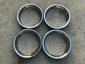 15 Trim Rings Corvette Rally Wheel