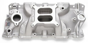 Edelbrock 2701 Performer Eps Intake Manifold Cast Non egr Idle 5500rpm