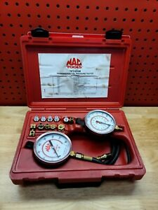 Mac Tpt455m Transmission Oil Pressure Tester With Case And Adapters