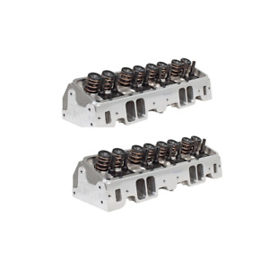 Air Flow Research 0914w 6400 Sbc 190 Vortec Corona Series Cyl Heads pair