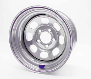 Bart Wheels 533 58504 15x8 5 on 5 4in Bs Silver Painted