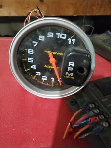 Auto Meter Monster Tachometer Gauge11000 Rpm 5
