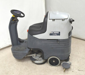 Advance Scrubber dryer Sc3000 26d Ecoflex 24vdc E Floor Cleaning Rider 26 w Batt