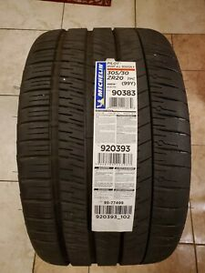 Used 305 30 20 Michelin Pilot Sport All Season 4 Zp C8 Corvette 10 32nds 3819