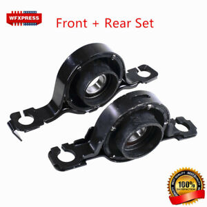 2pcs Front Rear Center Support Bearing Kit For Ford Edge Mazda Cx9 2007 2013