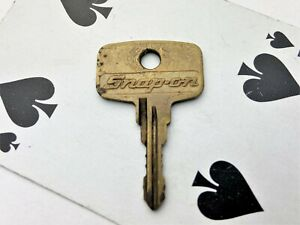 Original Snap On Y4 Replacement Key For A Toolbox Tool Chest Top Or Side Box