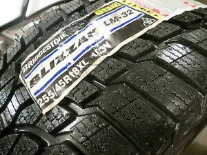 New 1 One Bridgestone Blizzak Lm 32 Lm 32 255 45r18 Xl 103v 255 45 18 2418