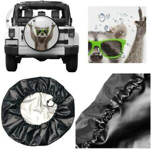 Uu Spare Tire Cover Tire Cover Life Is Good Polyester Universal Dust Proof Water