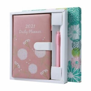 2021 Planner Organizer Agenda A5 Diary Notebook With Pen Weekly Notepad Schedule