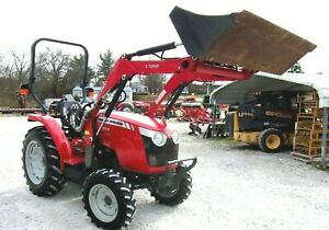 2015 Massey Ferguson 1734e 4x4 Loader 194 Hrs free 1000 Mile Delivery From Ky