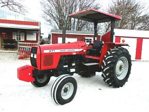 2005 Massey Ferguson 471 442 One Owner Hours free 1000 Mile Delivery From Ky