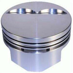 D S S Racing 8710 4030 Pistons Forged Flat 4 030 In Bore For 383 Chevy Set Of 8
