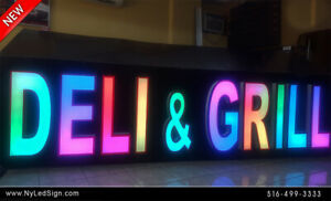 New Led Channel Letters Sign Rgb Magic Color Changing 18 Custom Made