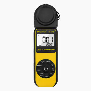 Digital Lcd Lux Light Meter With 0 01 400 000 Lux Luminance Tester Handheld 270