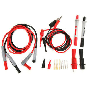 Test Lead Kits Set Meter Test Leads Electrical Tester Kit Power Probe Lead Set