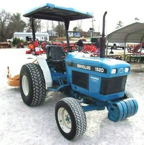 New Holland 1520 4x4 With Woods Finish Mower free 1000 Mile Delivery From Ky