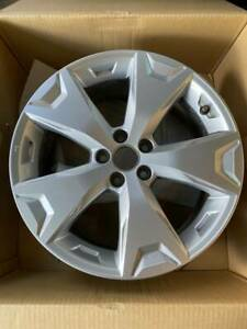 Set Of Four 4 Subaru Forester 2014 2015 2016 17 Factory Oem Wheels Silver