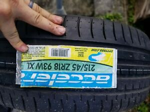 Local Pickup Only New Accelera 215 45zr18 Tires 215 45 18