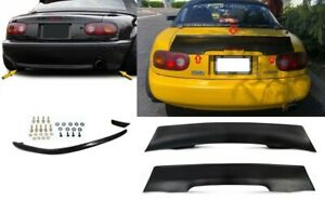 Fits 90 97 Mx 5 Mazda Miata Rocket Style Trunk Spoiler R Package Rear Lip