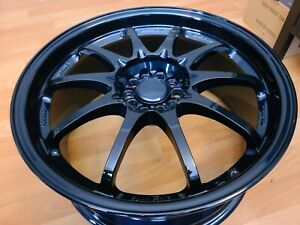 18x8 Rays Engineering Ce28 Og 18x8 5x100 Et44 Complete Volk Racing Forged Magblu