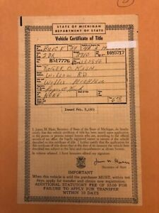 1954 Buick Two 2 Door Car Auto Historic Document Michigan Man Cave Barn Find