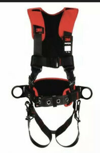 New 3m Protecta 1161418 Full Body Harness Vest Style M l Polyester Black 2020
