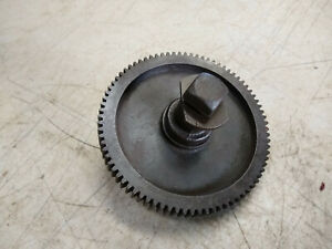 Vintage South Bend Metal Lathe Change Gear 80t Tooth 1 Bore 5 87 Dia 8