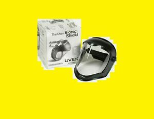 Uvex S8510 Bionic Hardcoated Anti Fog Clear Polycarbonate Face Shield System