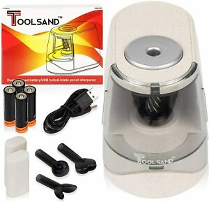 Automatic Electric Pencil Sharpener Heavy Duty Usb Battery Powered included