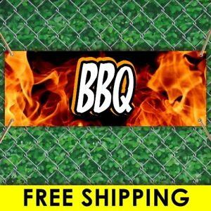 Bbq Advertising Vinyl Banner Flag Sign Many Sizes With Free Grommets