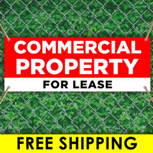 Commercial Property For Lease Advertising Vinyl Banner Flag Sign Many Sizes